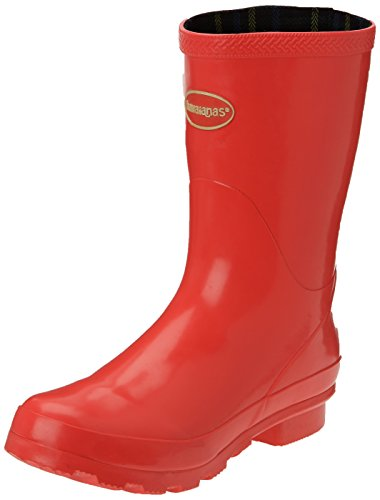 Havaianas Helios Mid Rain Boots Damen Stiefel Rot 0597