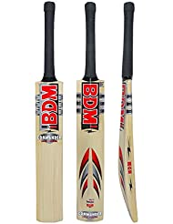 Commander Max Power Bdm English Willow Wood Adult Sizes Cricket Bat Carry Case - Choose Weight