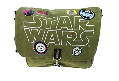 Star Wars Despatch Bag Umhängetasche, 36 cm, Grün (Khaki)