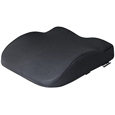 Hardcastle Black Memory Foam Seat Support Cushion - inexpensive UK light store.