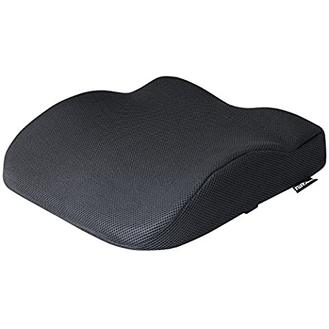Hardcastle Black Memory Foam Seat Support