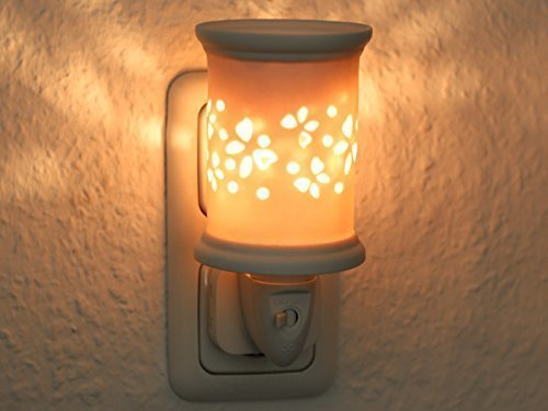 Duftlampe Sula, weiss, elektrisch inkl. Birne Stövchen - Wärmer Duftlampe