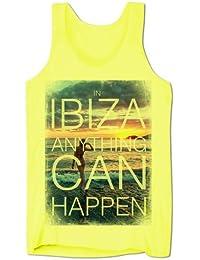 Homme Débardeur Décolleté Tout Peut Arriver À Ibiza