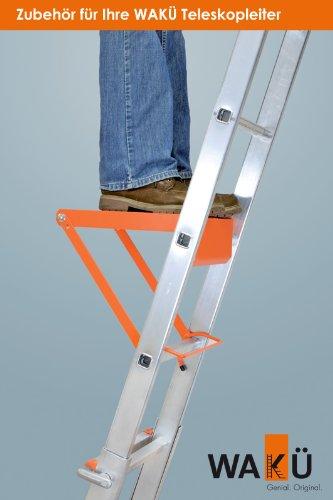 Plattform zum Einhängen in Leitern, Stehleitern, Anlegeleitern