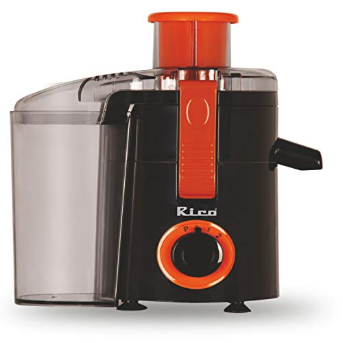 Rico Portable Electric Fruits and Vegetable Juicer (Aero Space Orange)