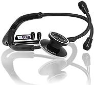 ELKO EL-030 SPECTRA Aluminium Head Stethoscope for Doctors & Students - Black Edi