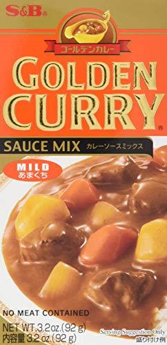 S  &  B Würzpaste golden Curry mild, 12er Pack (12 x 100 g) (Goldener Curry Mix)