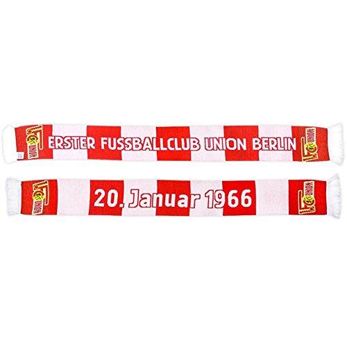 1. FC Union Berlin erster Fußballclub Schal Fanschal Scarf (rot/weiß)
