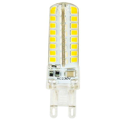 G9 LED Birnen, Nicht Dimmbare 5 Watt Warm Weiß 3000K LED Glühbirnen Bi-Pin Sockel (40W Halogen G9 Glühbirnen gleichwertig), AC 230V für Deckenleuchten, Kronleuchter, Innenbeleuchtungen - Bi-pin-halogen-sockel