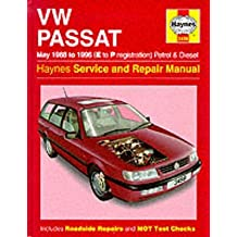 [VW Passat Petrol and Diesel (May 1988-96) Service and Repair Manual] (By: R. M. Jex) [published: November, 1998]