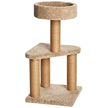 AmazonBasics Cat Activity Tree with Scratching Posts - Medium - 16 x 16 x 31 Inches