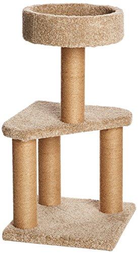 AmazonBasics Cat Tree with Scratching Posts