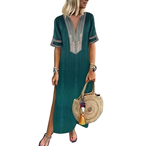 Vestidos Mujer Casual Vestido De Verano Largo Maxi