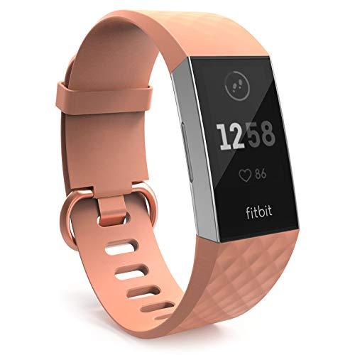 Yousave Accessories Bracelet Fitbit Charge 3, Bracelet...