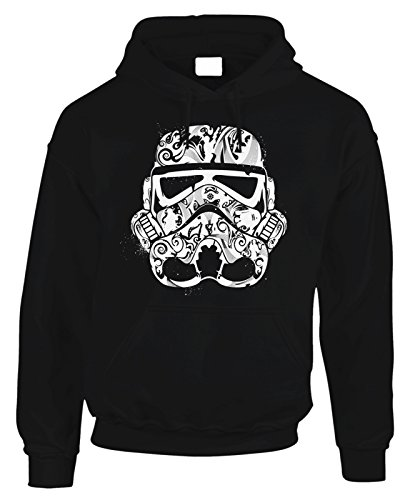 Felpa con cappuccio Stormtrooper Star Wars GUERRE STELLARI in cotone by Fashwork