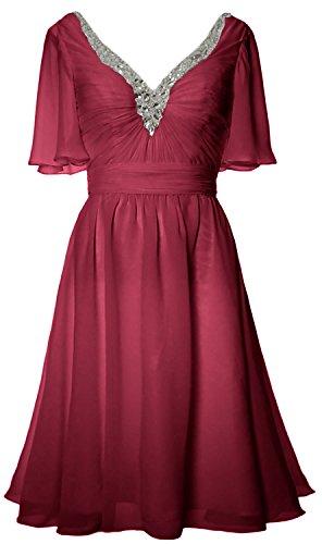 MACloth - Robe - Femme Lie de vin