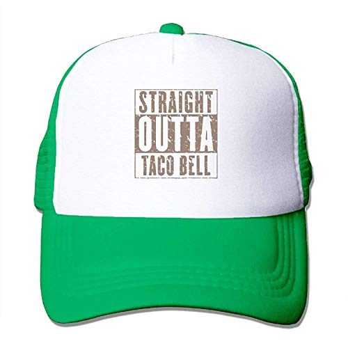Qian Mu888 Straight Outta Taco Bell Youth Mesh Baseball Cap Summer Adjustable Trucker Hat - Big Farmer Bell