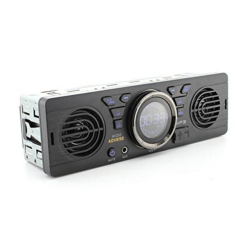 Boomboost AV252 12V Car tarjeta SD radio de coche Stereo autoradio MP3...