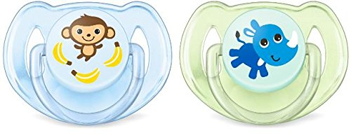Philips Avent SCF169/27 - Set 2 chupetes Gama Safari