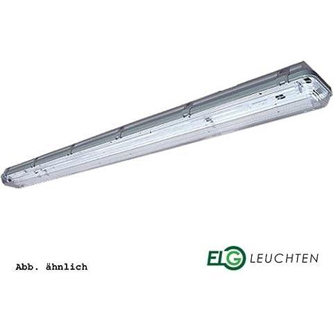 FL-149-W-E(PCA-ECO) (LM840) incluye tubo - trenkenchu espacio para lámpara, lámpara de techo, luz industrial 1 x 49 W - con resina de policarbonato cubierta y balastro electrónico