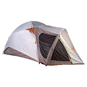 41EBLPJ4DHL. SS300  - Kelty Palisade 6 Person Tent - Cool Grey/Putty