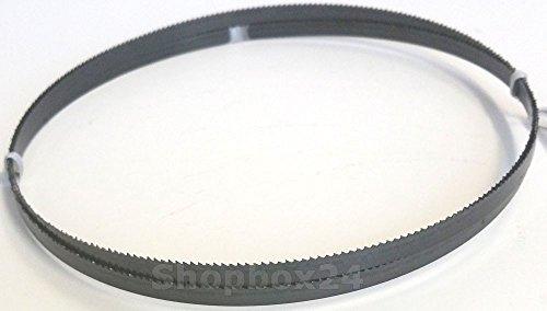 Premium Sägeband Bandsägeband Bandsägeblatt Sägebänder 1520 mm x 6 mm x 0,36 mm x 14 Zähne pro Zoll , für weiche Metalle wie Bronze, Kupfer und Aluminium, geeignet für Maschinen wie : Black & Decker DN 330 / 339 u.v.m.