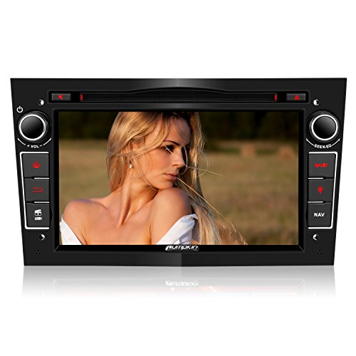 PUMPKIN 2 Din Autoradio DVD Player Moniceiver 7 Zoll mit GPS Navigation...