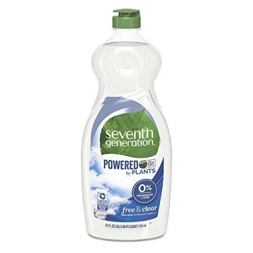 Seventh Generation Natural Liquid Gericht Seife frei,, 25Oz (739ml) - Liquid Hand Cleaner