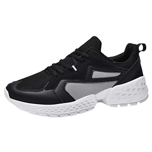 Ginli Scarpe da Running Scarpe da Ginnastica Uomo Scarpe per Correre Running Corsa Sportive Sneakers Trail Trekking Fitness Casual Outdoor