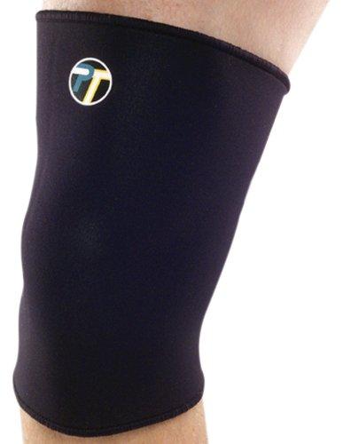 Pro-Tec Athletics geschlossen Kniebandage Patella, Unisex - Erwachsene, schwarz, Small -