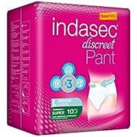 INDASEC PANT SUPER 100-140 GDE 10 U/