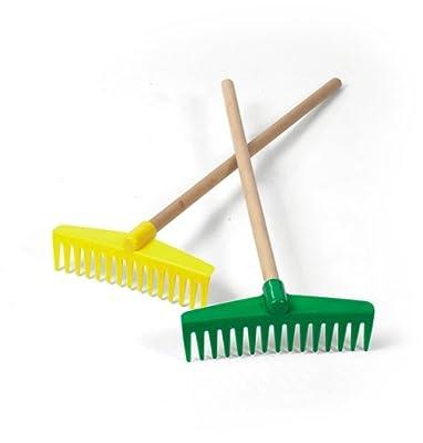 Rolly Toys 372461 - Rechen mit Holzstiel
