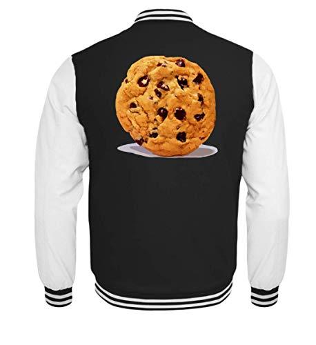 ookie Keks Schokoladen Kekse Halloween DIY Gruppen Geschenk T-Shirt - Kinder College Sweatjacke ()