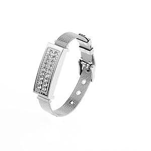 Clé Usb 32GO Bracelet Décorative USB 2.0 argent Flash Drive Pour Femme