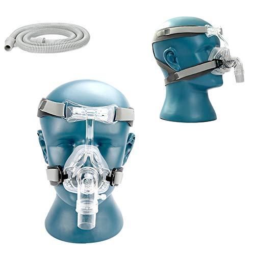 WSN Gel Vollmaske Ersetzen Sie das CPAP-Beatmungskopfband für den Schlaf durch EIN frei verstellbares Kopfband mit 1,8-m-Beatmungsgerät,L -