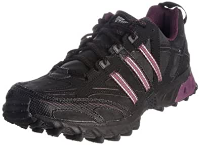 adidas Kanadia Trail 3, Men's Trainers, Black/Purple, 3.5 UK