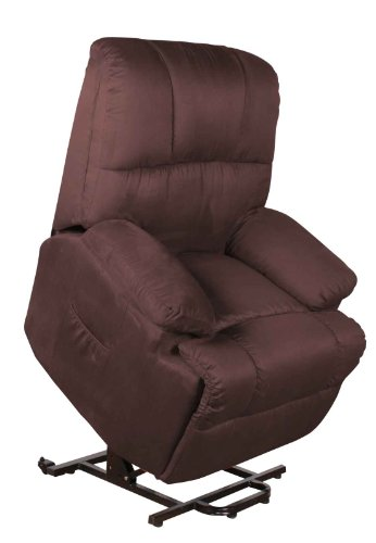 Fernsehsessel mit Aufstehhilfe elektr. 2 motorig Relaxsessel TV Sessel braun