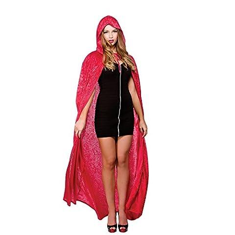 Costumes De Luxe Pour Homme Halloween - Cape de velours de luxe avec capuche