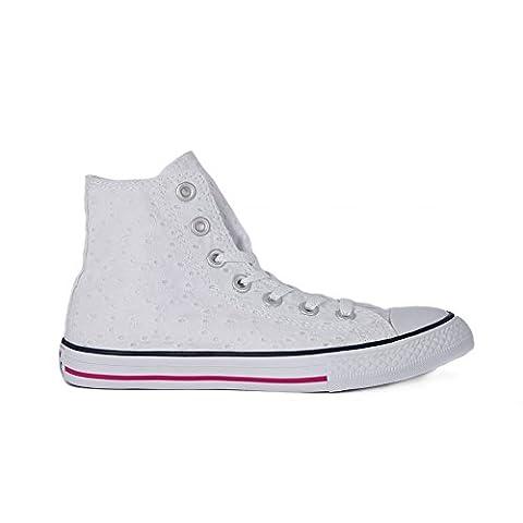 Converse Fleur - CONVERSE - Sneaker à lacets blanche en