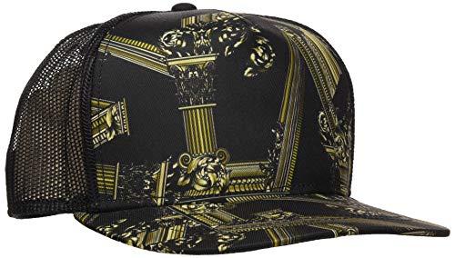 VERSACE JEANS COUTURE Herren Hat Baseball Cap, Schwarz (Nero 899), One Size (Herstellergröße: NR) (Versace-baseball-cap)