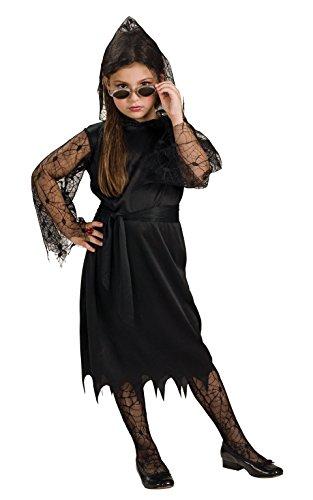Rubie 's Offizielles Gothic Spitzen Vampir Kostüm Mädchen Medium