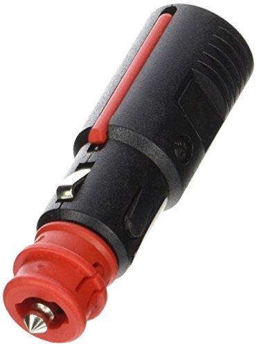 Preisvergleich Produktbild HELLA Universal Stecker,  passend für Zigarettenanzünderfassungen ø 21 und 22 mm,  Tiefe ca. 40 mm,  nach DIN ISO 4165 . 2-polig,  für DIN ISO Stecker verwendbar,  mit Sicherungseinsatz 8 A