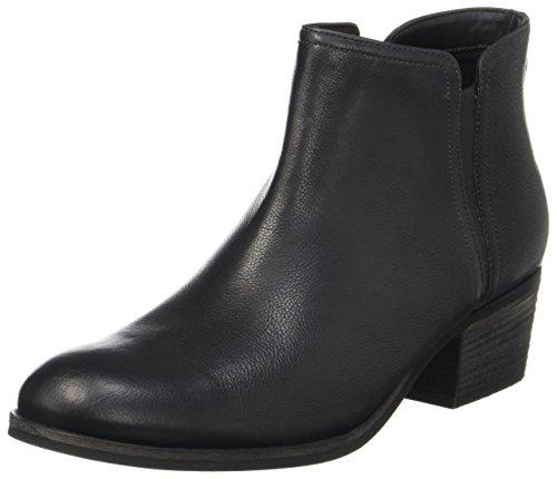 Clarks Damen Maypearl Ramie Combat Boots, Schwarz (Black Leather), 40 EU (Clarks Boot-schwarz)
