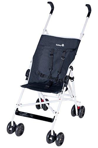 Safety 1st, Passeggino senza cappottina parasole, Nero (black/white)