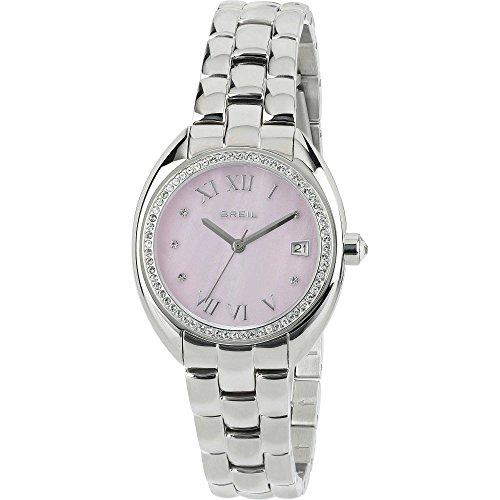 eb24c6b868a8 Reloj mujer acero Claridge Rosa con Piedras Breil
