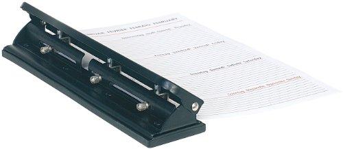 General Office Dreifach-Organizer-Locher aus Metall für 12 Blätter, DIN A4