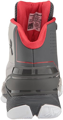 Under Armour Longshot Basketball Scarpe Gray Matter/Rhino Gray