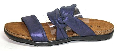 NAOT 04713 Lidia Damen Schuhe Pantoletten Sommerschuhe Lila (soft violet nubuk)