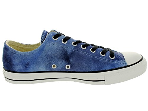 Converse CT Ox Old Grey Womens Trainers - Airway Blue/Dozar Blue