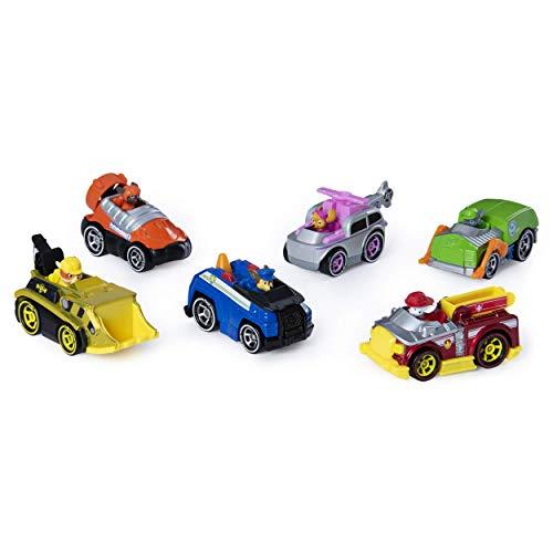 Paw Patrol – 6053362 – Jeu enfant – Pack de 6 véhicules True Metal – La Pat' Patrouille